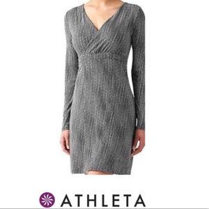 Athleta Wrap It Up Dress